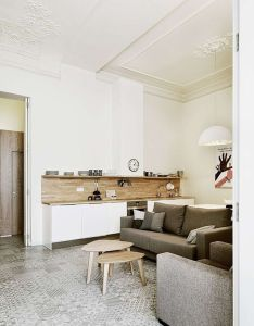 On the first home tour after  long summer break we go into fantastic barcelona apartment refurbished by intercon what caught my eye everything also designing for small spaces beautiful micro lofts lovely rh za pinterest