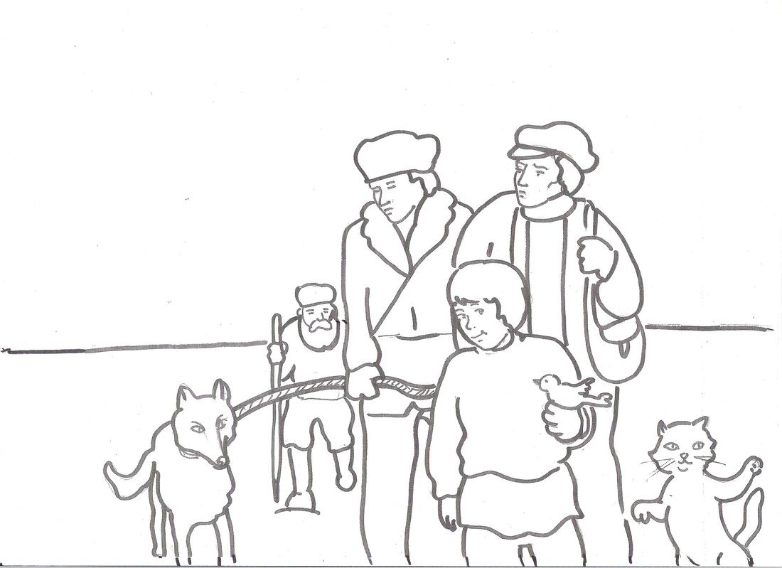 Peter and the Wolf Resources, including clips of each