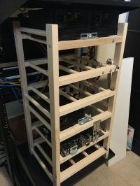 Ikea's Hutten wine rack doubles as the perfect motherboard ...