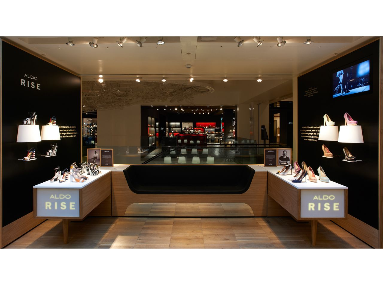 Store Design Project Detail Pentagram Also Retail Ideas Magasin Rh Pinterest