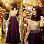 Muslim Long Sleeve Wedding Dresses
