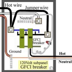 6 Pin Square Trailer Wiring Diagram Bedroom Main Lug With Gfci | Jeffrey Smith Pinterest