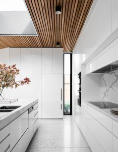 House also light and bright kitchen in the courtyard photography by tom rh pinterest