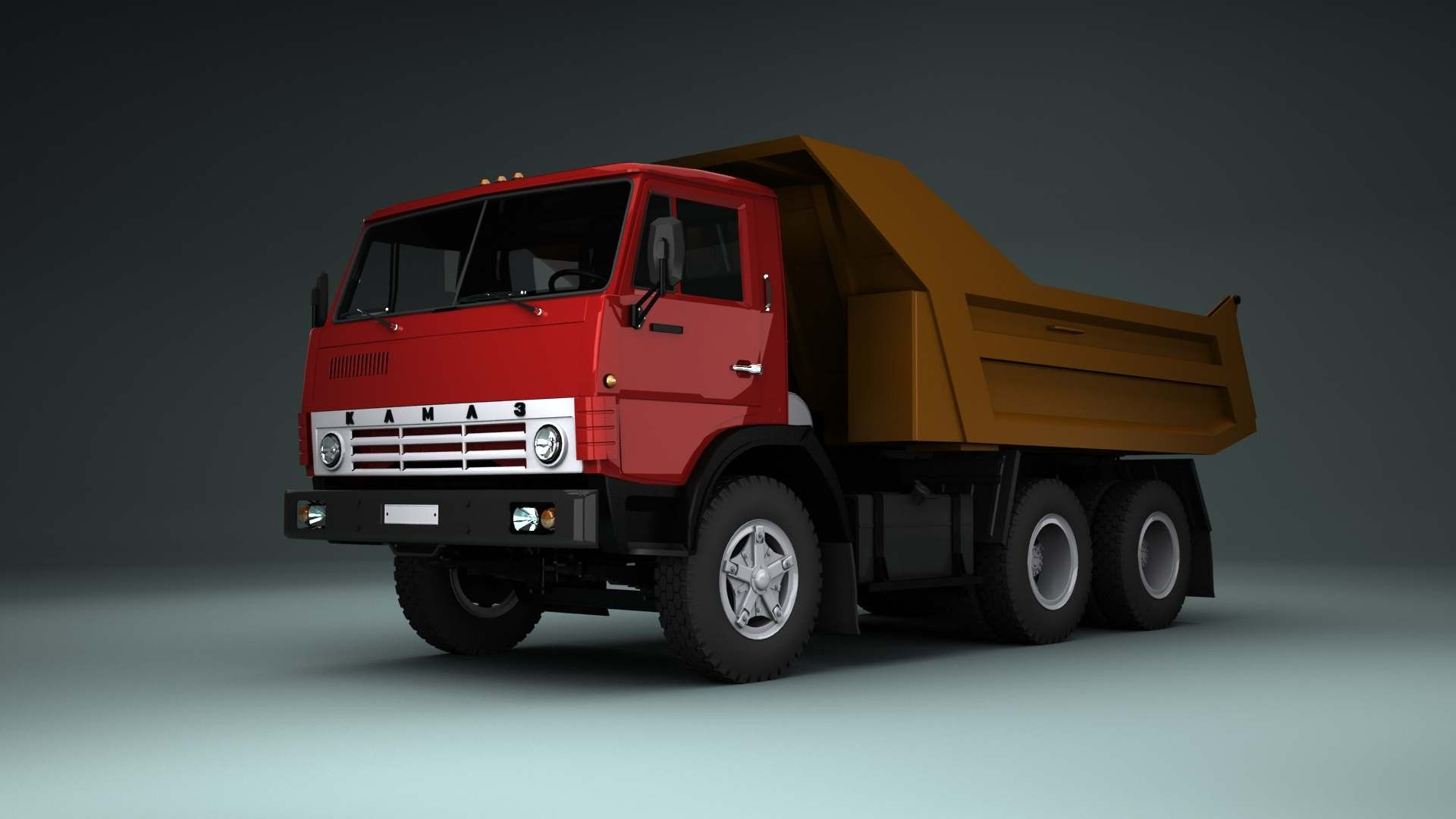 Kamaz 5511 Original previewcf turbosquid