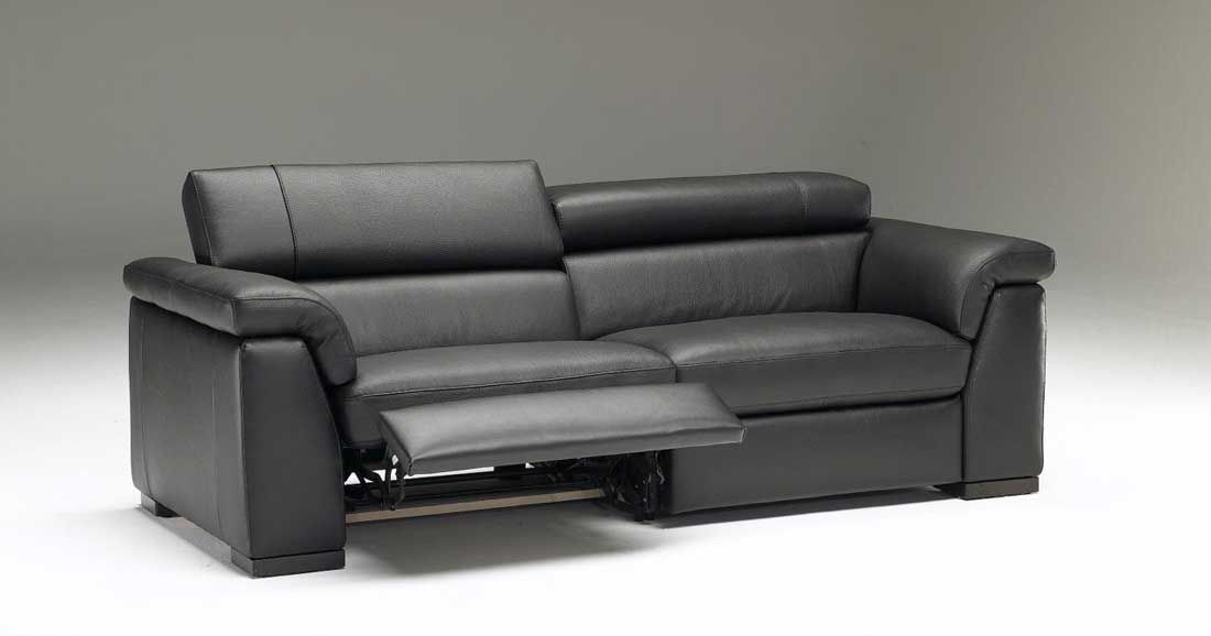 grey leather reclining sofa sets