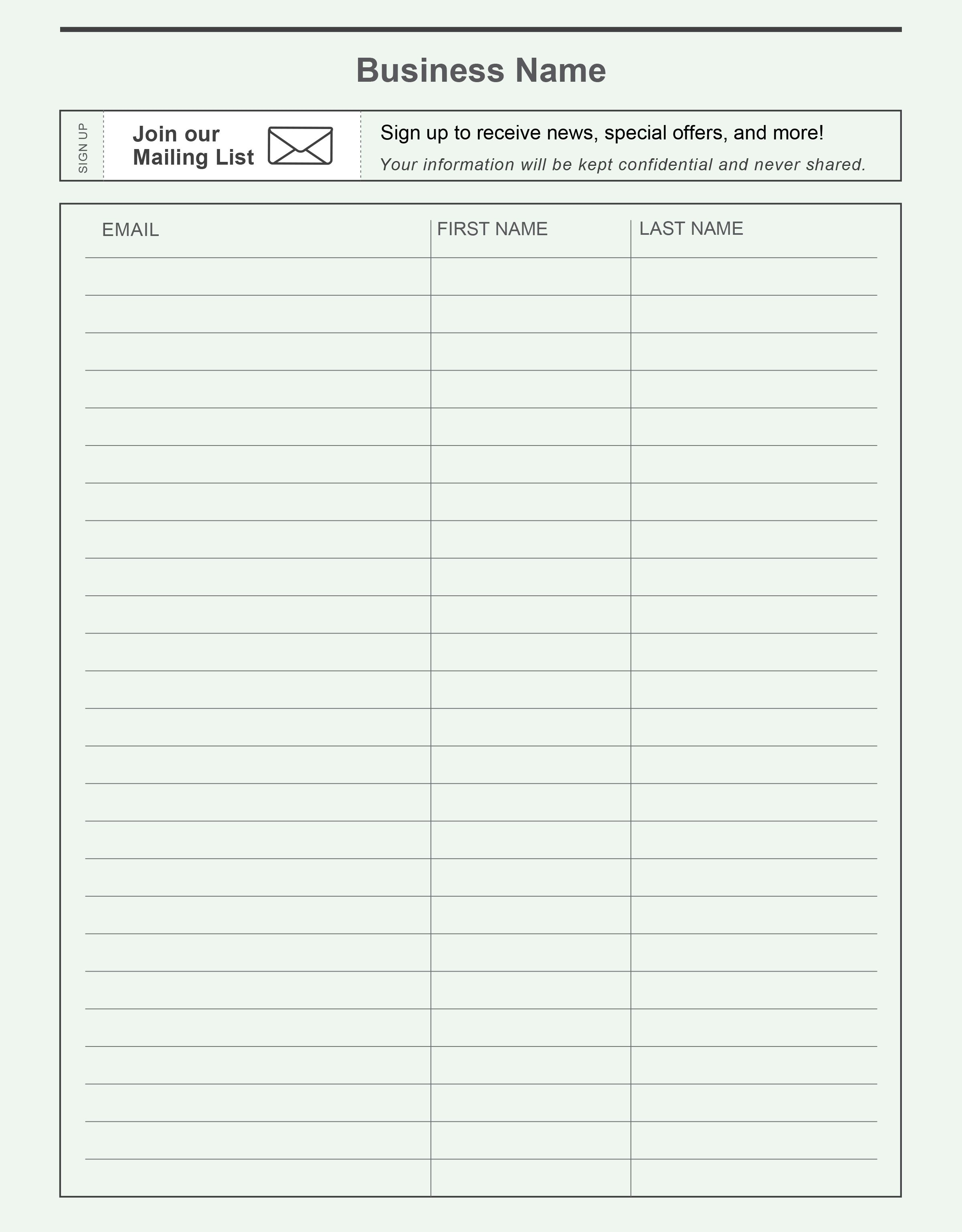 18/04/2020· email sign up sheet template. Dentrodabiblia Email Sign Up Sheet