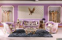 Pink & purple luxury sofa and living room set. http ...