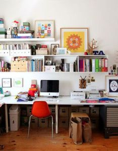Creative home offices  inspiration gallery also workspaces apartment rh pinterest