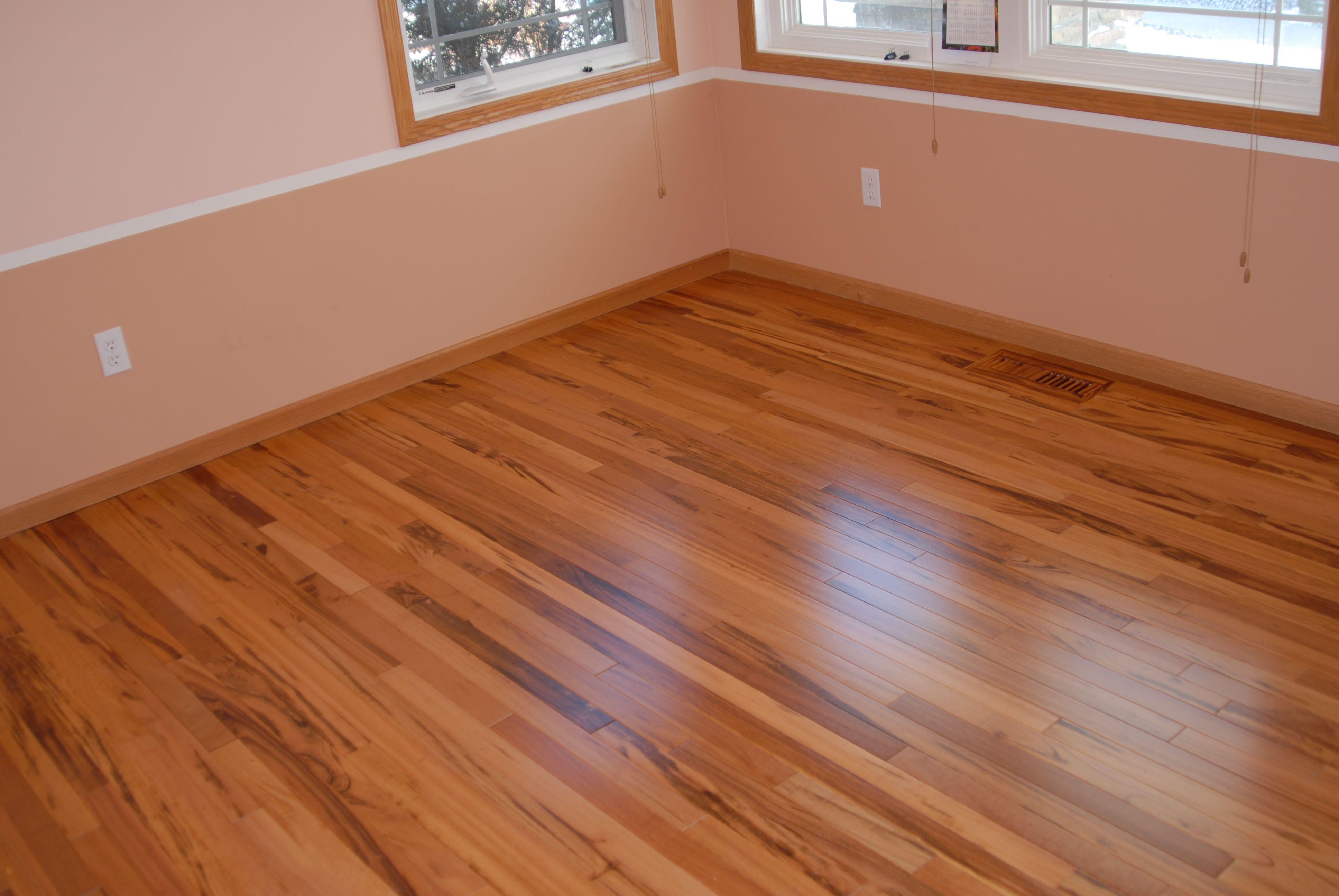Tigerwood Hardwood Flooring  Unfinished Exotic
