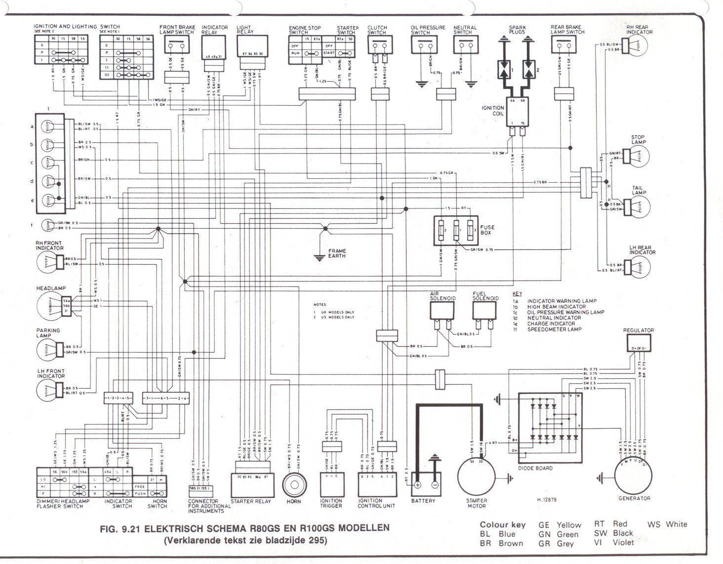 R1100rt Conbine Switch Wiring Diagram,rt • Edmiracle.co