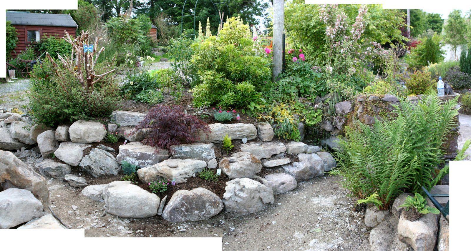 Crafty Garden Ideas Garden Rockery Ideas Bt The Crafty