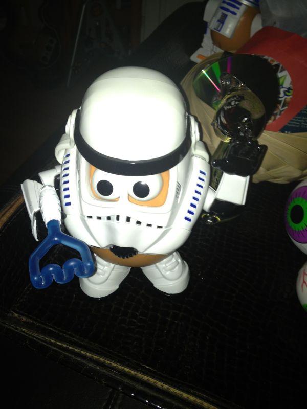 Storm Trooper Potato Head Cool