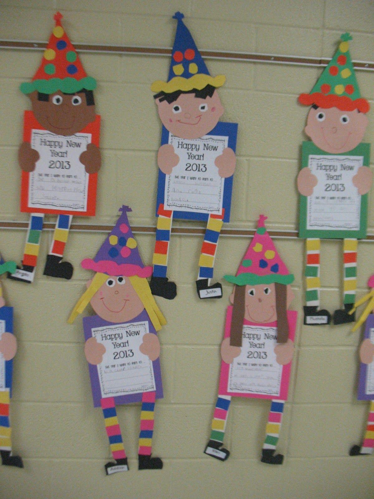 Mrs Morrow S Kindergarten Happy New Year