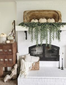 Dough bowl mantel decor game changes  am obsessed with this also rh pinterest
