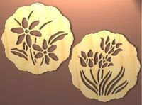 Scroll Saw Patterns Free Design | Spring Trivet or Wall ...