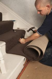 How to Install Carpet on Stairs Like a Pro | House, Carpet ...