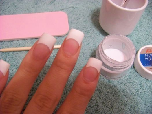How To Apply Acrylic Nails The Of Course You Have Tried