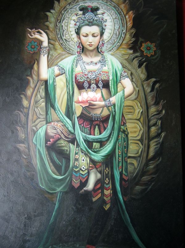 Kwan Yin Guanyin Phaedri - Bodhisattva With Compassion Venerated