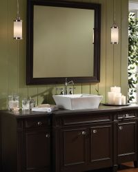 Bridgeport #pendant by Tech #Lighting in #bathroom # ...