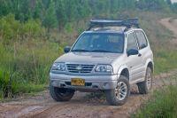 Grand Vitara (Chevrolet Tracker) with Thule Canyon XT Roof ...
