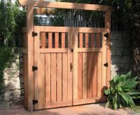 Wood Fence Gate Designs for Your Garden Plans custom wood ...
