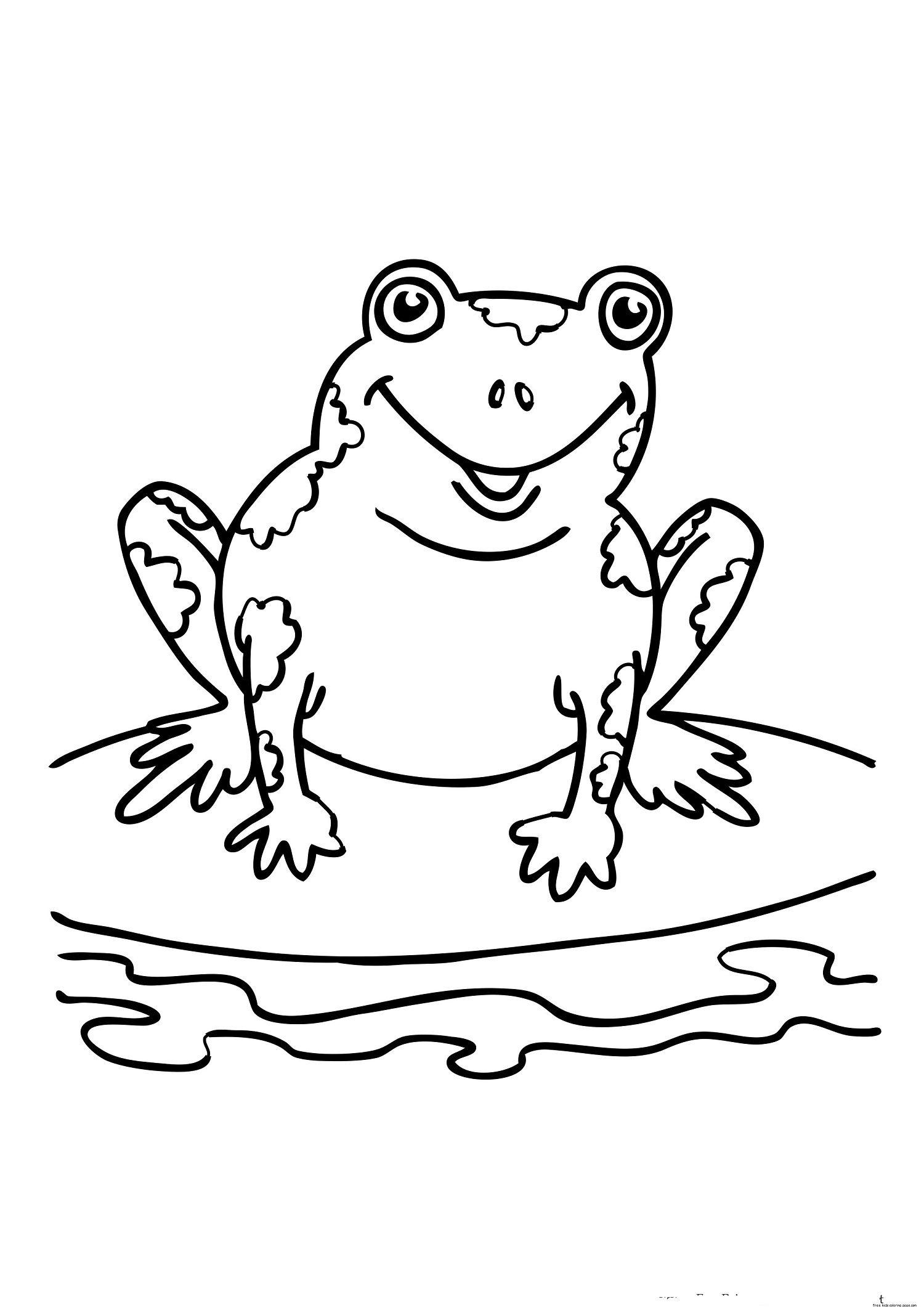 Amphibians Printable For Kids