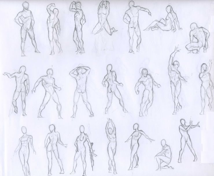 couple poses drawing reference male