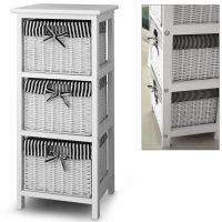3 Drawer Storage cabinet with 3 baskets - Shelf - Storage ...