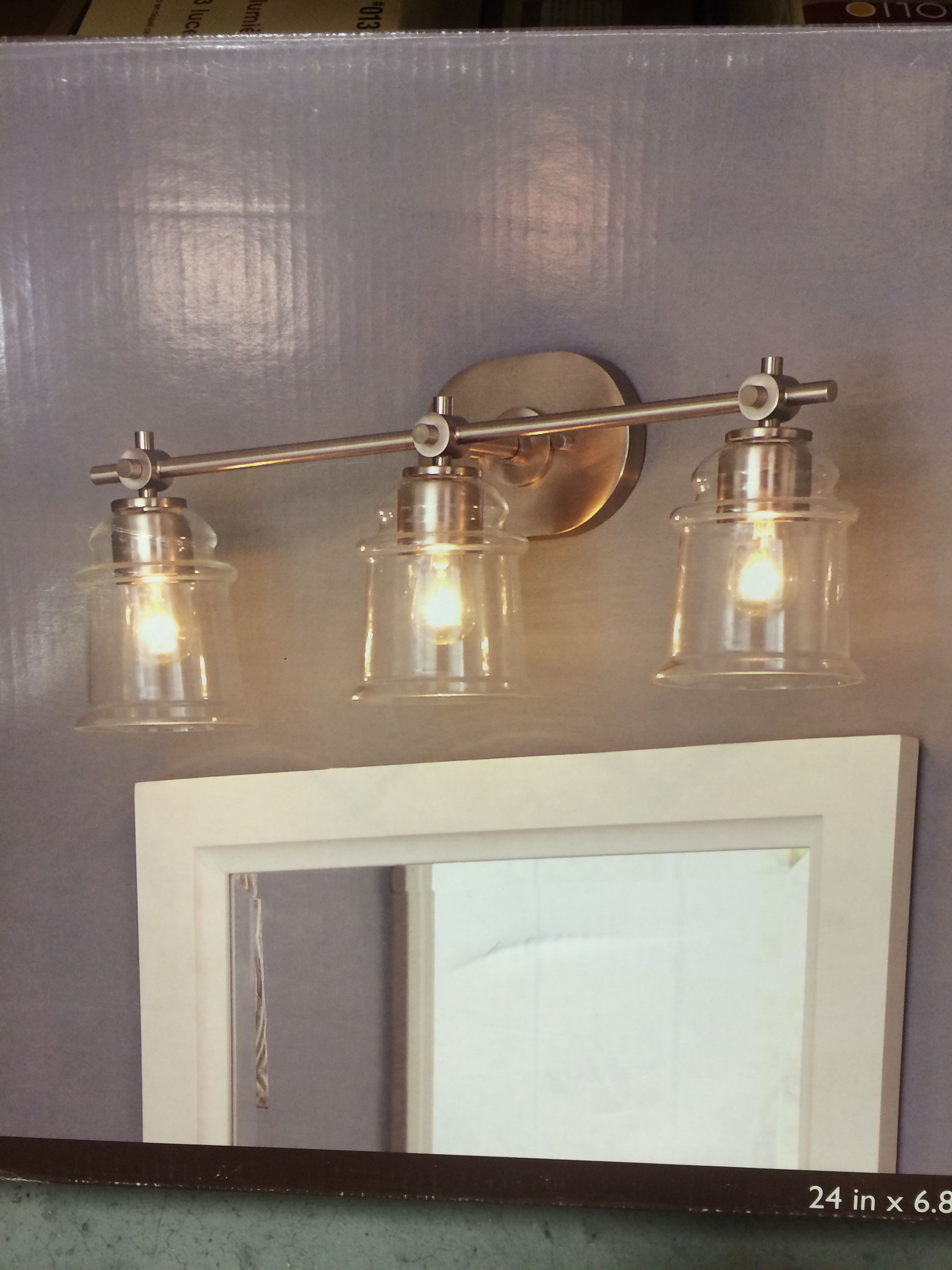 Bathroom Lighting Fixtures Lowes 0612659 3 Light Lowes Allen And Roth Winbrell Yellow