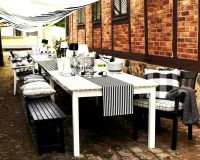 Ensemble Angso d'IKEA   Outdoor tables, Outdoor living and ...