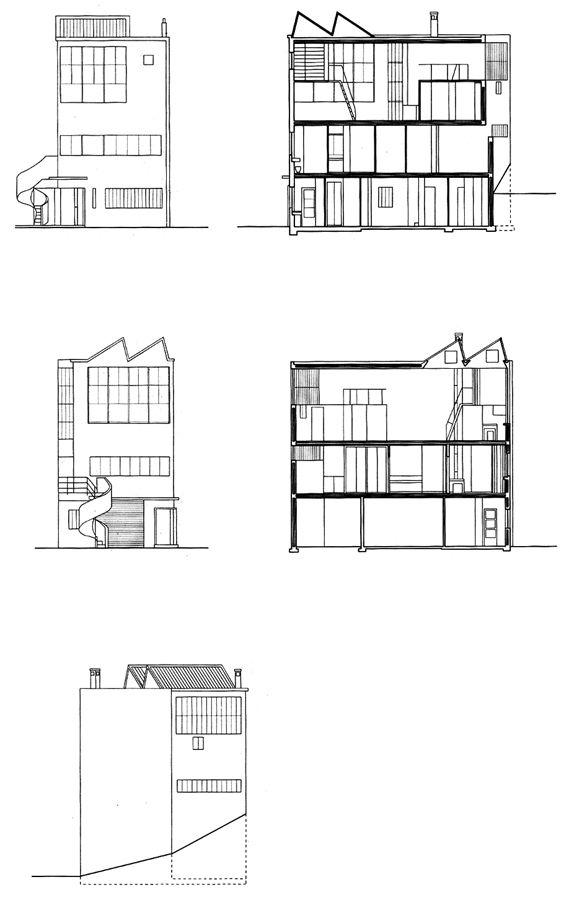 Maison-Atelier Ozenfant à Paris par Le Corbusier