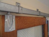 Barn Door Track System | door hardware | Pinterest | Barn ...