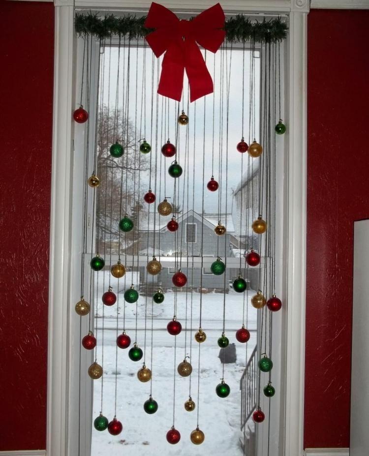 accesorios de cortinas para navidad  cortinas para