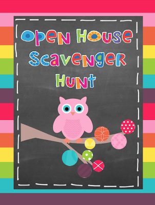 FREE 0 Open House Scavenger Hunt #Teacher At Owl Ways Be Inspired