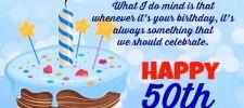 50th birthday wishes httpbirthday wishes smscom50th - 50th Birthday Wishes