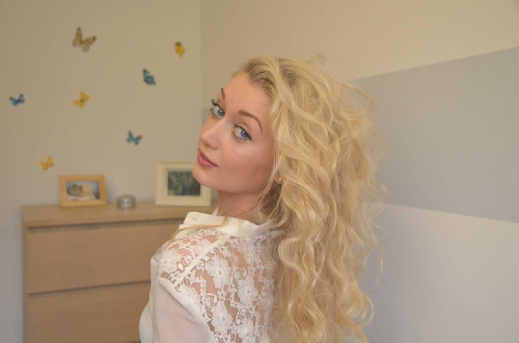 25 bsta Dauerwelle groe locken iderna p Pinterest  Curly hair styles Dauerwelle kurze