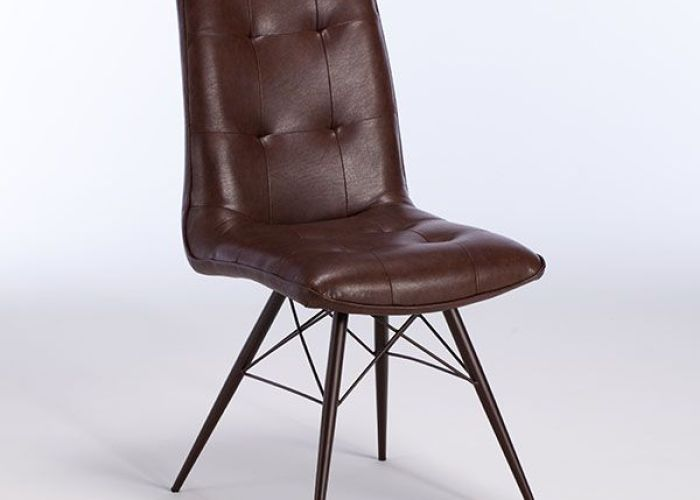 Hix dining chair vintage brown chairs room also