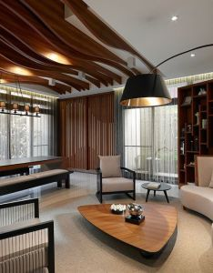 Interiors also new case postulate by yu ya ching living room ideas apartment rh pinterest