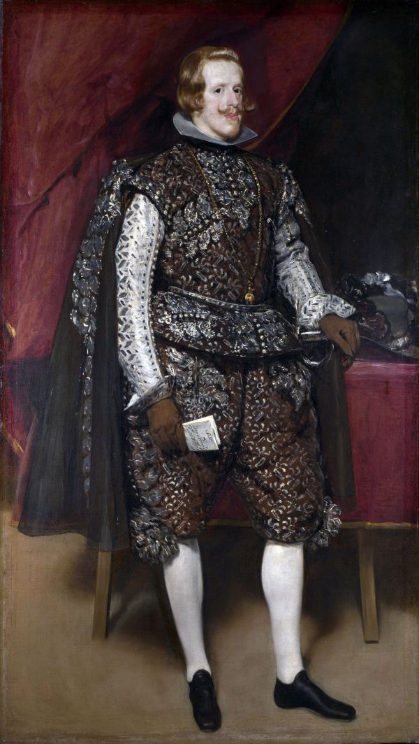 1632 - Philip Iv Of Spain In Brown And Silver Diego