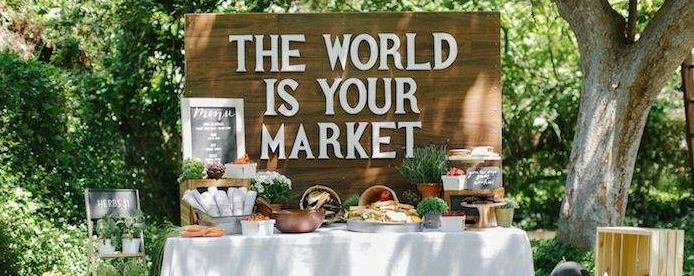 The World Is Your Market Graduation Party! I Love THIS