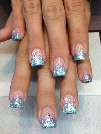 New nails... Winter wonderland theme | Nailed it ...