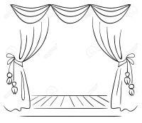 Resultado de imagen para teatro dibujo | teatro ...