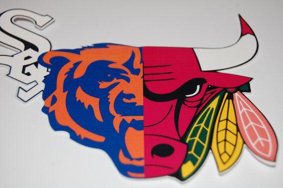 Decal Cubs Bears Bulls Blackhawks Shirt