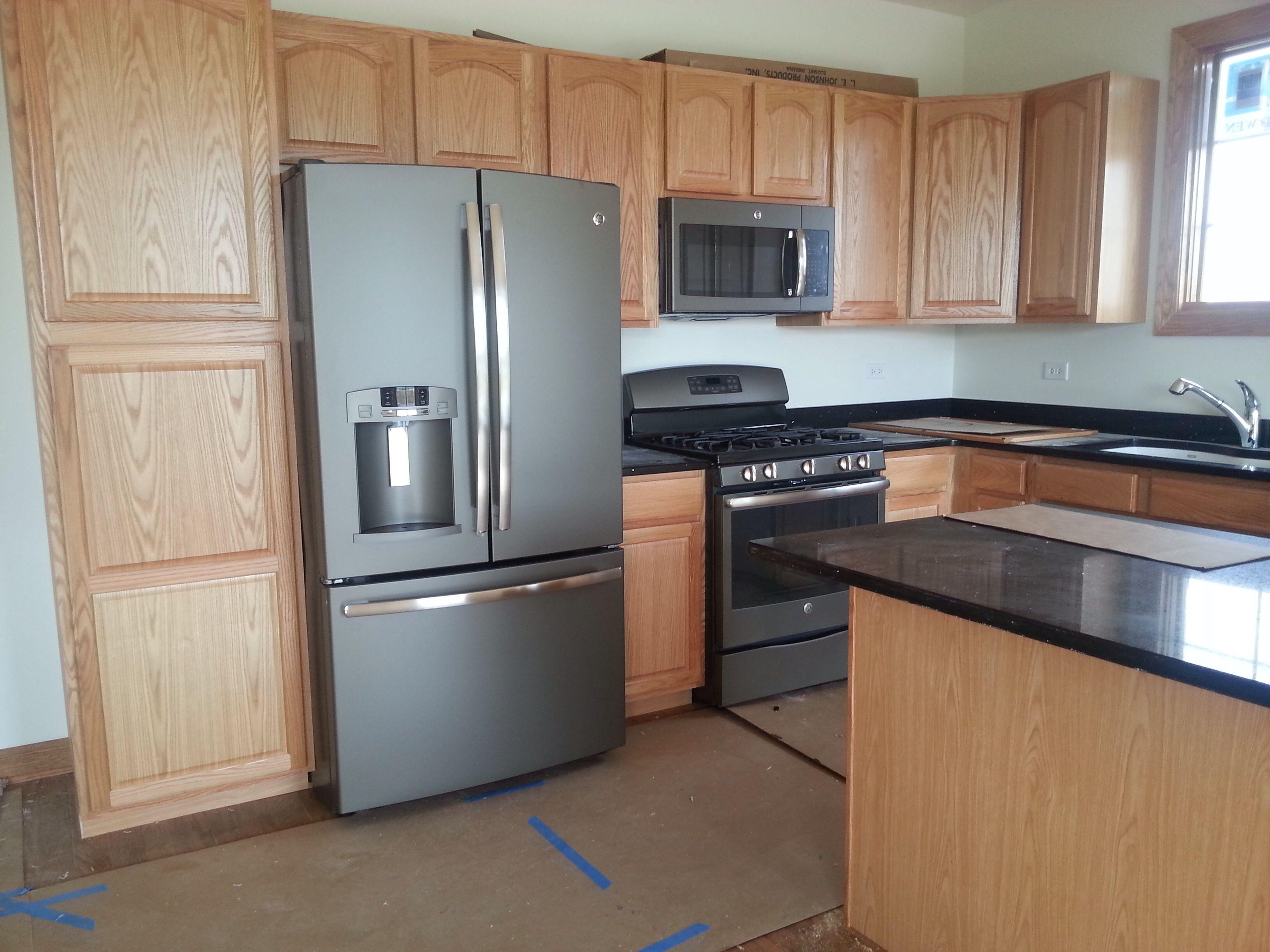slate kitchen appliances sinks undermount ge whisper creek townhomes in mokena