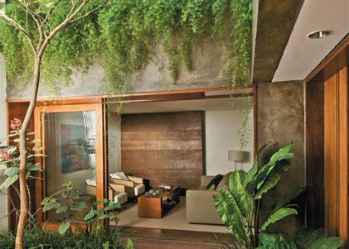 Estreita clara  ventilada indoor courtyardcourtyard landscapingmodern also courtyard small gardens and