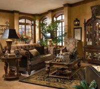 Michael Amini Vizcaya Living Room Collection | House ideas ...