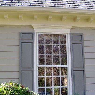 outside window trim ideas