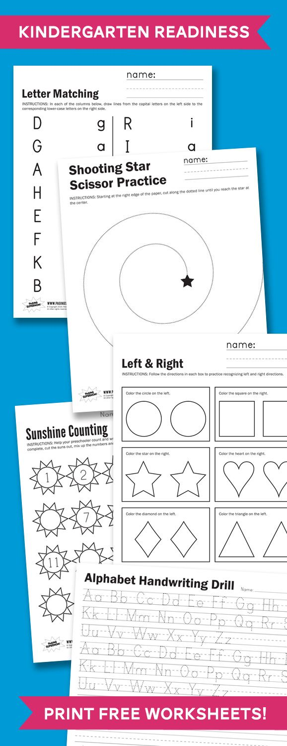 Kindergarten readiness worksheets ive already saved  lot of printables from this website    going to start working with my boys on them starting also best images about teacher lounge pinterest common core rh