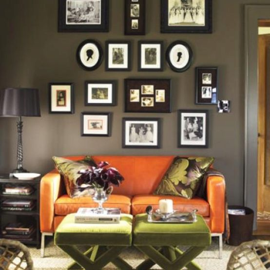 Decorating A Hunter Green Living Room  Green living rooms