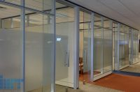 Frameless Glass Sliding Doors for modular office